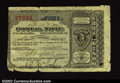 Miscellaneous:Postal Currency, New York, NY Postal Note