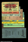 Miscellaneous:Other, 1939-1940 Golden Gate Exposition Tickets. A group of seven ...