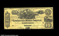 Confederate Notes:1861 Issues, T29 $10 1861. The bottom and left margins on this note are ...