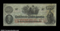 Confederate Notes:1862 Issues, T41 $100 1862. Choice Crisp Uncirculated, with one tiny ...