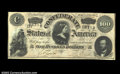 Confederate Notes:1864 Issues, T65 $100 1864. Crisp Uncirculated....