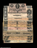 Confederate Notes:Group Lots, A Nice Group of 1864 Confederates.