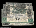 Confederate Notes:Group Lots, Four Exceptionally Nice Confederate Counterfeits, Including:...