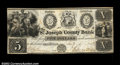 Obsoletes By State:Michigan, Centerville, MI- The St. Joseph County Bank $5 Jan. 5, ...