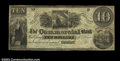 Obsoletes By State:Michigan, Gratiot, MI- The Commercial Bank $10 G8 Bowen 4