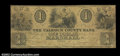 Obsoletes By State:Michigan, Marshall, MI- The Calhoun County Bank $1 April 1, 1837 G2 ...