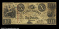 Obsoletes By State:Michigan, Monroe, MI- The Bank of River Raisen $10 Oct. 20, 1836 G34 ...