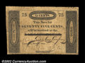 Obsoletes By State:Ohio, Cincinnati, OH- Miami Exporting Co. 75¢ Dec. 1, 1818 G18...