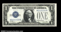 Small Size:Silver Certificates, Fr. 1601/1602 $1 1928A/1928B Silver Certificates. Changeover ...