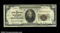 Small Size:Federal Reserve Bank Notes, Fr. 1870-I* $20 1929 Federal Reserve Bank Note. Fine.A ...