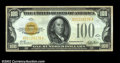 Small Size:Gold Certificates, Fr. 2405 $100 1928 Gold Certificate. Extremely Fine+++....