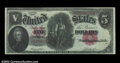 Error Notes:Large Size Errors, Fr. 88 $5 1907 Legal Tender Inverted Back CGC Almost ...