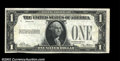 Error Notes:Missing Face Printing (100%), Fr. 1600 $1 1928 Silver Certificate. Choice Crisp ...