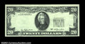 Error Notes:Missing Third Printing, Fr. 2072-? $20 1977 Federal Reserve Note. Choice Crisp ...