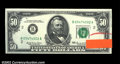 Error Notes:Skewed Reverse Printing, Fr. 2114-B $50 1969 Federal Reserve Note. Gem Crisp ...