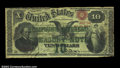 Large Size:Compound Interest Treasury Notes, Fr. 190b $10 1864 Compound Interest Treasury Note Very Fine, ...