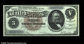 Large Size:Silver Certificates, Fr. 263 $5 1886 Silver Certificate Very Choice New. This ...