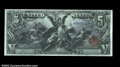 Large Size:Silver Certificates, Fr. 270 $5 1896 Silver Certificate Superb Gem New. Fr. 270 ...