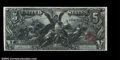 Large Size:Silver Certificates, Fr. 270 $5 1896 Silver Certificate CGA Gem Uncirculated 65....