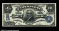 Large Size:Silver Certificates, Fr. 302 $10 1908 Silver Certificate Superb Gem New. This ...