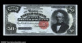 Large Size:Silver Certificates, Fr. 334 $50 1891 Silver Certificate Superb Gem New. This ...