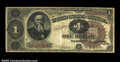 Large Size:Treasury Notes, Fr. 348 $1 1890 Treasury Note Fine. 348 is by far the ...