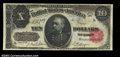 Large Size:Treasury Notes, Fr. 370 $10 1891 Treasury Note CGA Gem Uncirculated 65. A ...
