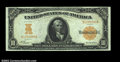 Large Size:Gold Certificates, Fr. 1168 $10 1907 Gold Certificate Very Choice New. ...