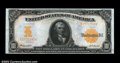 Large Size:Gold Certificates, Fr. 1172 $10 1907 Gold Certificate Very Choice New. The ...