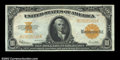 Large Size:Gold Certificates, Fr. 1173 $10 1922 Gold Certificate CGA Gem Uncirculated 66....