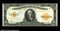 Large Size:Gold Certificates, Fr. 1173 $10 1922 Gold Certificate Choice New. Closely ...