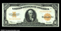 Large Size:Gold Certificates, Fr. 1173 $10 1922 Gold Certificate Choice About New. An ...