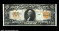 Large Size:Gold Certificates, Fr. 1187 $20 1922 Gold Certificate About New. The top face ...