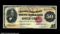 Large Size:Gold Certificates, Fr. 1196 $50 1882 Gold Certificate Choice Very Fine. Fewer ...