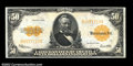 Large Size:Gold Certificates, Fr. 1200 $50 1922 Gold Certificate Extremely Fine-About New....
