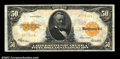 Large Size:Gold Certificates, Fr. 1200a $50 1922 Gold Certificate Extremely Fine. This ...