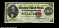 Large Size:Gold Certificates, Fr. 1208 $100 1882 Gold Certificate Very Fine. Only about ...