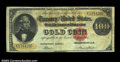 Large Size:Gold Certificates, Fr. 1211 $100 1882 Gold Certificate Fine. This is a well ...