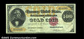 Large Size:Gold Certificates, Fr. 1212 $100 1882 Gold Certificate About New. This rare ...