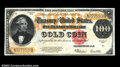 Large Size:Gold Certificates, Fr. 1215 $100 1922 Gold Certificate Extremely Fine. Bright,...