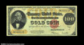 Large Size:Gold Certificates, Fr. 1215 $100 1922 Gold Certificate Extremely Fine. A ...