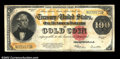 Large Size:Gold Certificates, Fr. 1215 $100 1922 Gold Certificate Fine-Very Fine. There ...