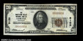 National Bank Notes:Colorado, Cortez, CO - $20 1929 Ty. 1 Montezuma Valley National ...