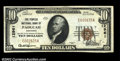 National Bank Notes:Kentucky, Paducah, KY - $10 1929 Ty. 2 The Peoples NB Ch. # ...