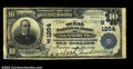 National Bank Notes:Maine, Kennebunk, ME - $10 1902 Plain Back Fr. 624 The Ocean NB...