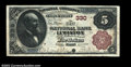 National Bank Notes:Maine, Lewiston, ME - $5 1882 Brown Back Fr. 466 The First NB ...