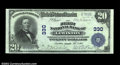 National Bank Notes:Maine, Lewiston, ME - $20 1902 Plain Back Fr. 650 The First NB...