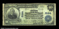 National Bank Notes:Maryland, Mount Savage, MD - $10 1902 Plain Back Fr. 634 The First ...