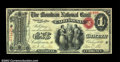 National Bank Notes:Missouri, California, MO - $1 Original Fr. 382 The Moniteau NB ...