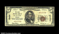 National Bank Notes:Missouri, Clayton, MO - $5 1929 Ty. 1 The First NB Ch. # 12333...
